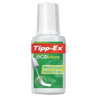 TIPP-EX ECOLUTIONS CORRECTION FLUID 20ML - PACK OF 10