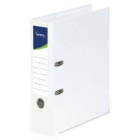 LYRECO POLYPROPYLENE WHITE A4 LEVER ARCH FILES - BOX OF 10