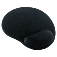 GEL MOUSE PAD BLACK