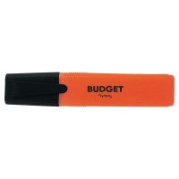 LYRECO BUDGET ORANGE HIGHLIGHTERS - PACK OF 10