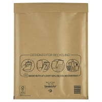 MAIL LITE GOLD POSTAL BAGS H5 270X360MM BOX OF 50