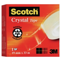 3M 600 SCOTCH CRYSTAL CLEAR TAPE 19MMX33M