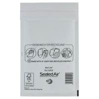 MAIL LITE WHITE POSTAL BAGS 120 X 210MM (4 3/4 X 8 1/4INCH) - BOX OF 100