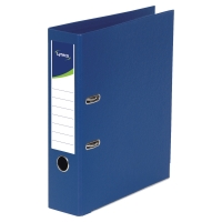 LYRECO POLYPROPYLENE DARK BLUE A4 LEVER ARCH FILES - BOX OF 10