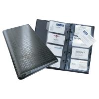 DURABLE CENTIUM BLACK 250 X 145MM BUSINESS CARD FILE