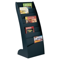 LITERATURE DISPLAY RACK - 8 COMPARTMENTS (TOTAL CAPACITY 16 X A4 DOCUMENTS)