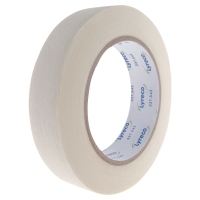 LYRECO CREPE MASKING TAPE - 25MM X 50M ROLL