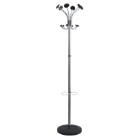 ALBA CHROMED VIENNA COAT STAND