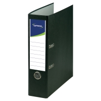 LYRECO RECYCLED BLACK A4 LEVER ARCH FILE 80MM - BOX OF 10