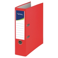 LYRECO RECYCLED RED A4 LEVER ARCH FILE 80MM - BOX OF 10