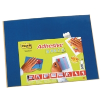 3M POST-IT ADHESIVE MEMO NOTICE BOARD BLUE 585X460MM