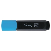 LYRECO HIGHLIGHTER BLUE - BOX OF 10