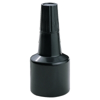 DORMY REPLACEMENT STAMP PAD INK BOTTLE BLACK 28ML