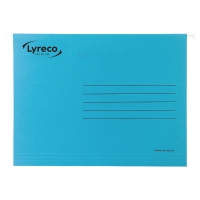 LYRECO PREMIUM BLUE FOOLSCAP SUSPENSION FILES V BASE - BOX OF 50