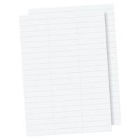 LYRECO PREMIUM WHITE SUSPENSION FILE TAB INSERTS - PACK OF 100