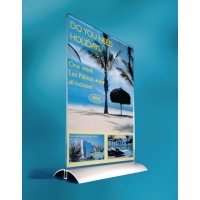 DURABLE 8589-19 TABLE TOP PRESENTER A4 TRANSPARENT ACRYLIC