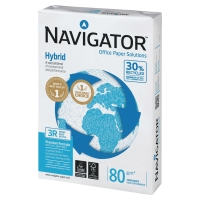 NAVIGATOR HYBRID PAPER A4 80 G - BOX OF 5 REAMS (2500 SHEETS)
