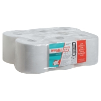 WYPALL L10 WHITE WIPER CENTERFEED ROLLS 76MM CORE - PACK OF 6
