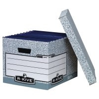 FELLOWES BANKERS BOX GREY STANDARD STORAGE BOX H285 X W333 X D390MM - PACK OF 10