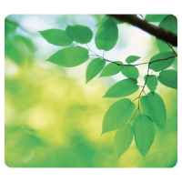 FELLOWES 59038 EARTH SERIES MOUSE PAD - LEAVES DESIGN