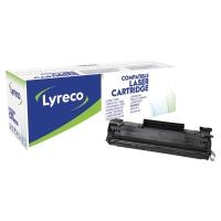 LYRECO COMPATIBLE 36A LASER CARTRIDGE HP CB436A - BLACK
