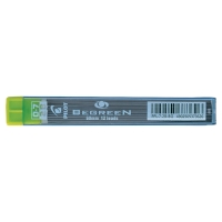 PILOT BEGREEN PENCIL LEADS 2B 0.7MM - TUBE OF 12 LEADS
