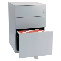 BISLEY NOTE STEEL PEDESTAL 2 DRAWER AND 1 FILING DRAWER A4