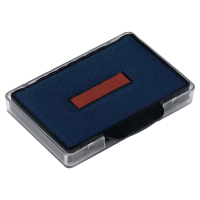 TRODAT 5460 SELF INKING REFILL PAD BLUE/RED - PACK OF 2