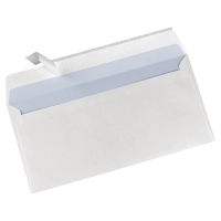 LYRECO WHITE DL PEEL AND SEAL PLAIN ENVELOPES 90GSM - BOX OF 500