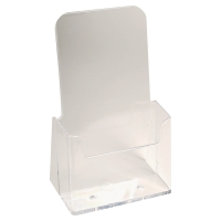 EXACOMPTA DESKTOP DISPLAY CLEAR POLYSTYRENE 1/3 A4
