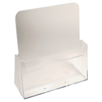 EXACOMPTA DESKTOP DISPLAY CLEAR POLYSTYRENE A4