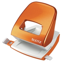 LEITZ NEXXT WOW 2-HOLE PUNCH ORANGE