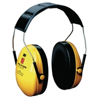 3M PELTOR OPTIME I EAR MUFF YELLOW/BLACK
