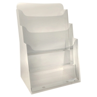 EXACOMPTA DESKTOP DISPLAY RACK 3 COMPARTMENTS A4