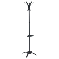 ALBA CLEO COAT STAND BLACK