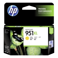 HP 951XL High Yield Yellow Original Ink Cartridge (CN048AE)
