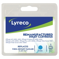 LYRECO HP CD972A 920XL COMPATIBLE INKJET CARTRIDGE CYAN