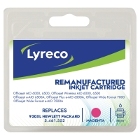 LYRECO HP CD973A 920XL COMPATIBLE INKJET CARTRIDGE MAGENTA