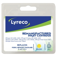 LYRECO HP CD974A 920XL COMPATIBLE INKJET CARTRIDGE YELLOW