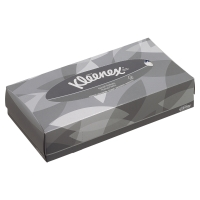 KLEENEX FACIAL TISSUES WHITE - BOX OF 100
