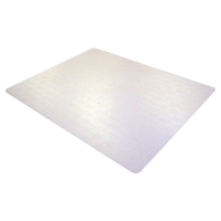CLEARTEX PHTHALATE FREE PVC CARPET CHAIRMAT 1200 X 900MM