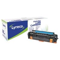 LYRECO COMPATIBLE 305A HP CE411A LASERJET TONER CARTRIDGE CYAN