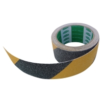 TESA ANTI-SLIP STAIR TAPE 5M X 50MM BLACK/YELLOW