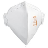 UVEX FFP2 VERTICAL FLATFOLD RESPIRATOR MASKS (BOX OF 30)
