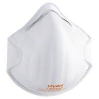 UVEX FFP2 CUP STYLE RESPIRATOR MASKS (BOX OF 20)