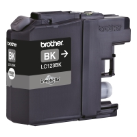 BROTHER LC123BK INKJET CARTRIDGE BLACK