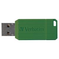 VERBATIM PINSTRIPE USB DRIVE 64GB BLACK