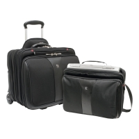 WENGER 60662 PATRIOT ROLLER 2 PIECE LAPTOP CASE
