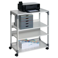 DURABLE 3711 SYSTEM MULTI TROLLEY GREY