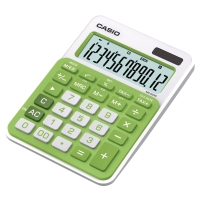CASIO MS-20NC DESK CALCULATOR 12DIGIT GREEN